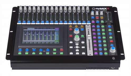 Ashly Audio DigiMIX 18 Tabletop Digital Mixing Console
