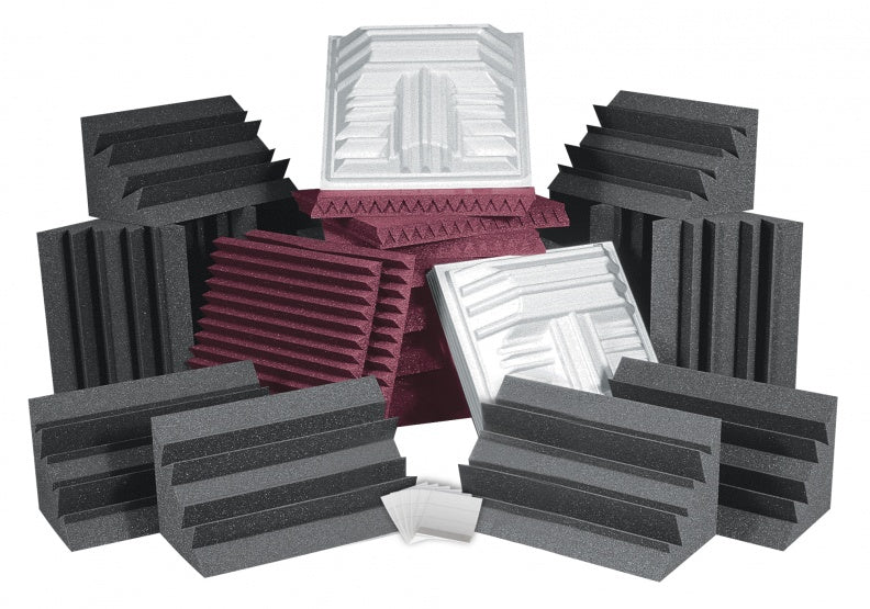 AURALEX ACOUSTICS ROOMPROPLUSBUR Pro Plus Roominator Acoustic Treatment Kit - Burgundy