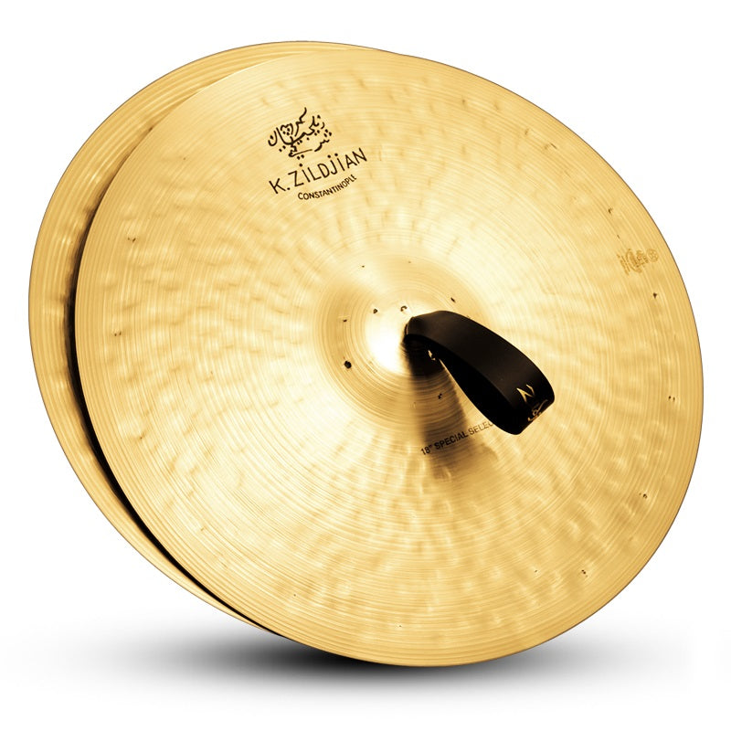 "Zildjian 18"" K Constantinople Orchestral Special Selection Cymbals - Pair"