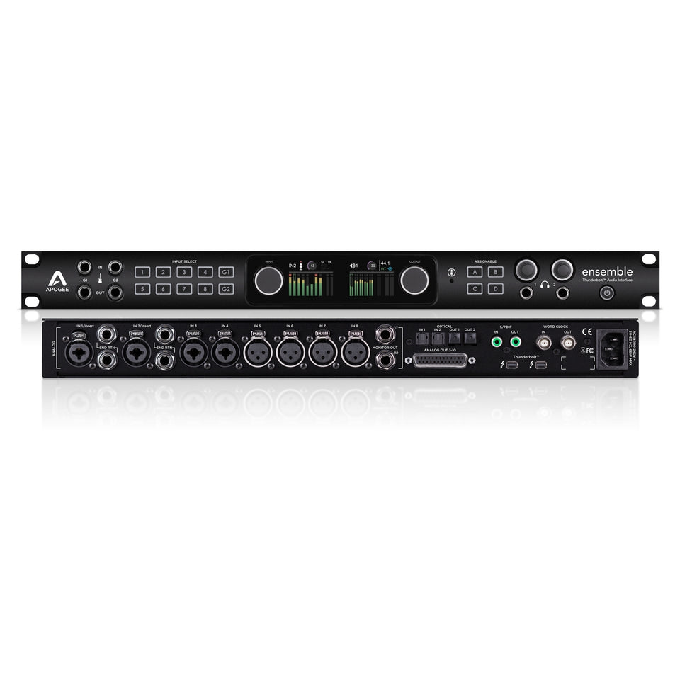 Apogee Ensemble 30 x 34 Thunderbolt 2 Audio Interface for Mac