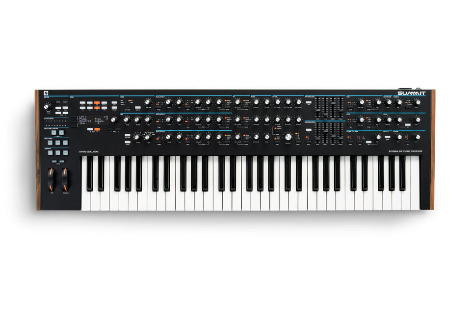 Novation Summit 61-Key 16-Voice Polyphonic Synthesizer
