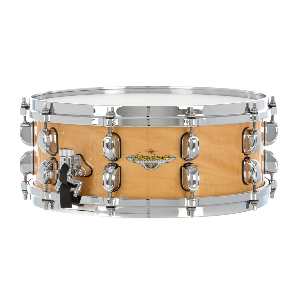 "Tama 14""x5.5"" Starclassic Maple Exotix Snare Drum - Figured Maple Gloss"