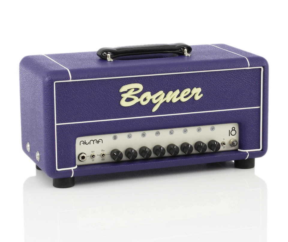 Bogner Atma 18W Helios Style All-Tube Amp Head - Custom Purple