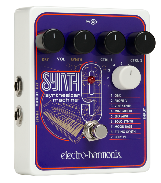Electro Harmonix Synth9 Guitar Effect Pedal