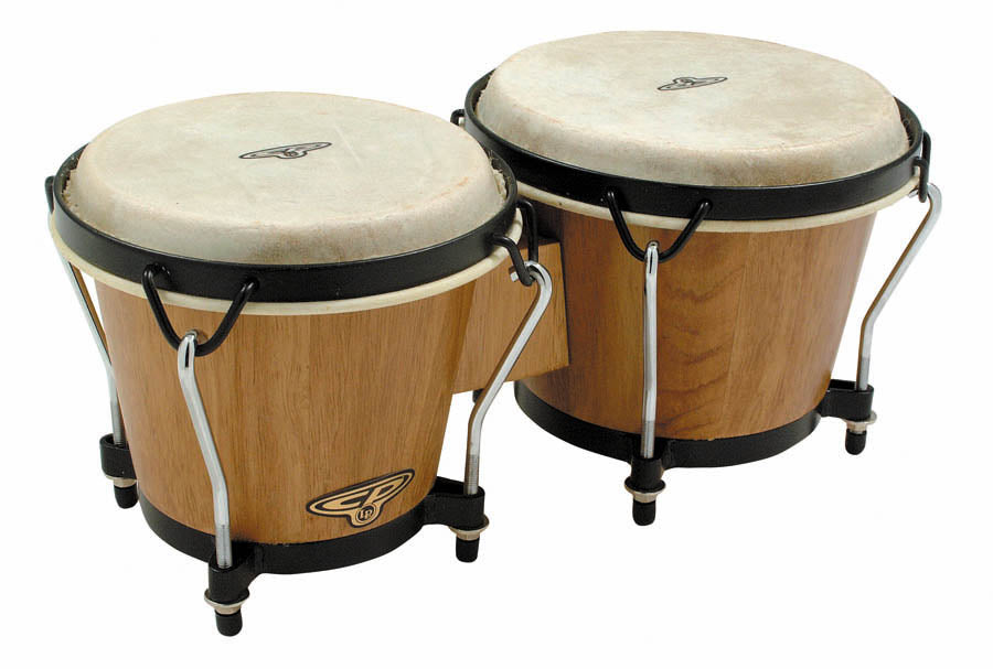 LP CP221-DW CP Traditional Bongos, Dark Wood
