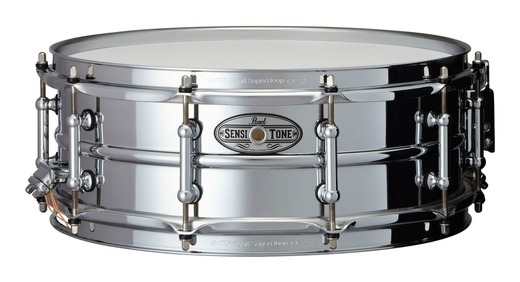 "Pearl 14"" x 5"" SensiTone Beaded Steel Snare Drum"