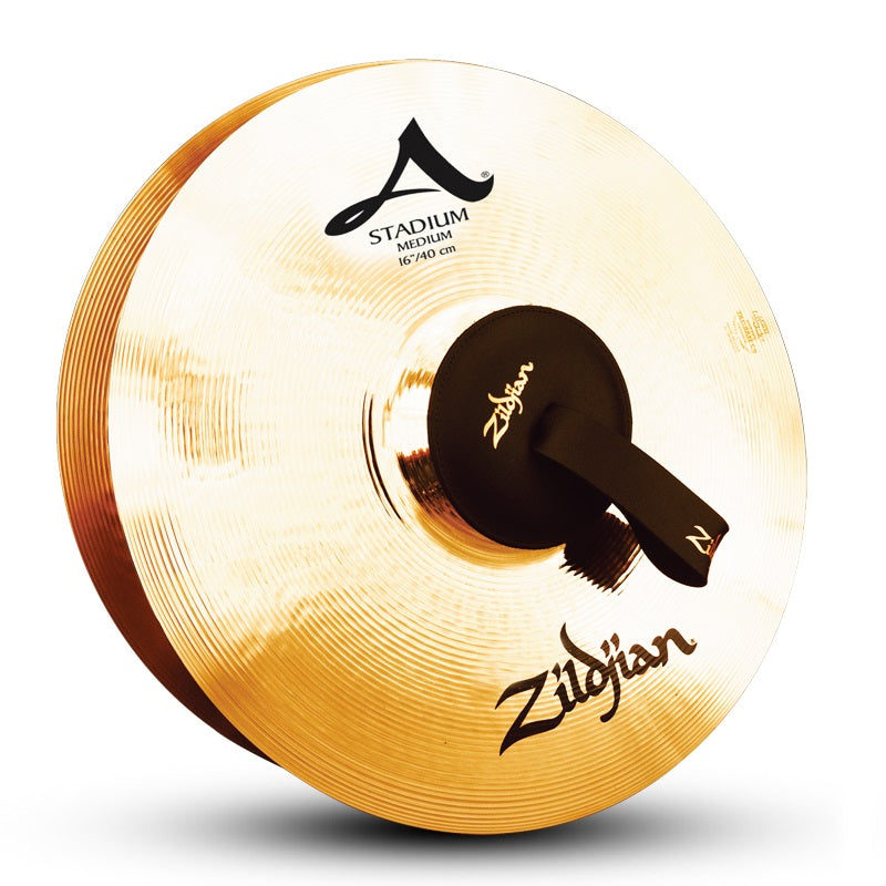 "Zildjian 16"" A Stadium Medium Cymbals - Pair"