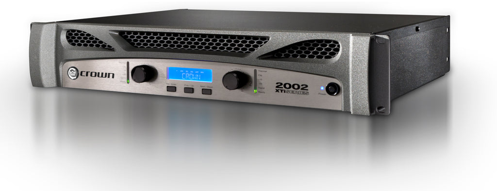 Crown Audio XTi 2002 Stereo Power Amplifier W/ DSP
