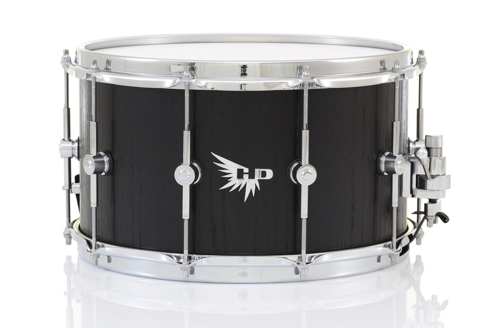 "Hendrix 14"" x 8"" Archetype Snare Drum - Black Satin Oak"