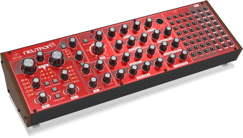 Behringer Neutron Paraphonic Semi-Modular Analog Synthesizer