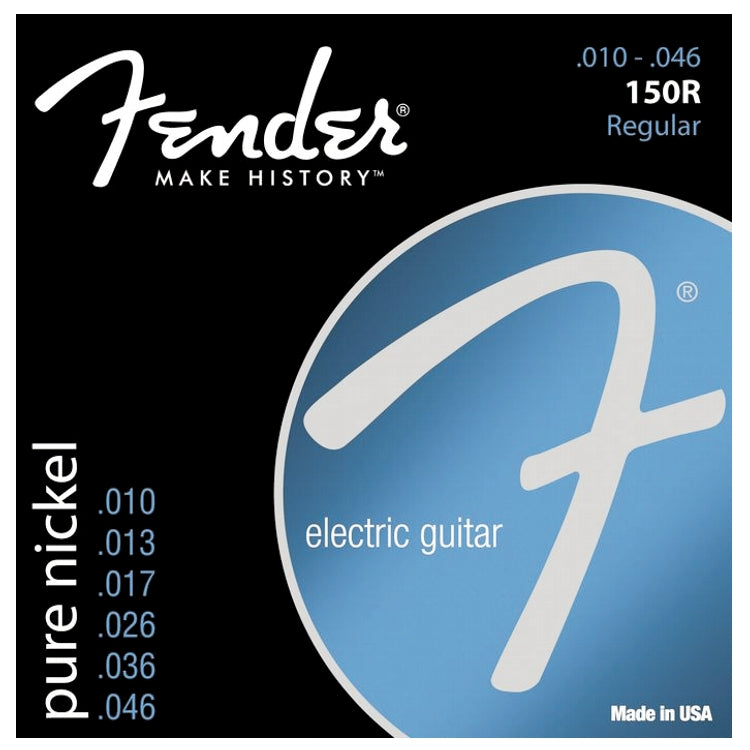 Fender 730150406 Original 150R Electric Guitar Strings, Regular (10 - 46)