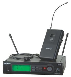 Shure SLX14/85 Lavalier Wireless System With Shure WL185 Cardioid Microphone