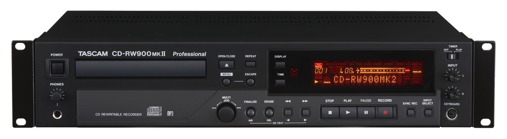 Tascam CD-RW900 MKII CD Recorder / Player