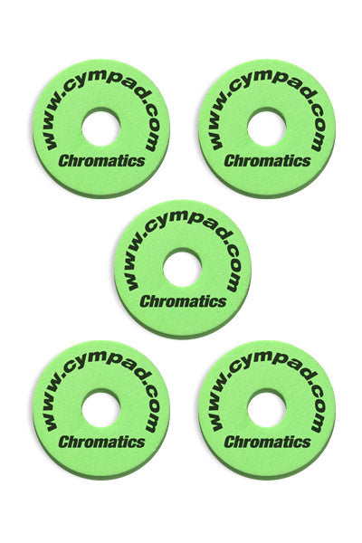 Cympad Chromatics Cymbal Enhancer Set - 40/15mm, Green