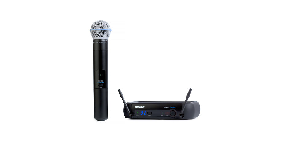 Shure PGXD24/BETA58 Digital Wireless System - 900 MHz