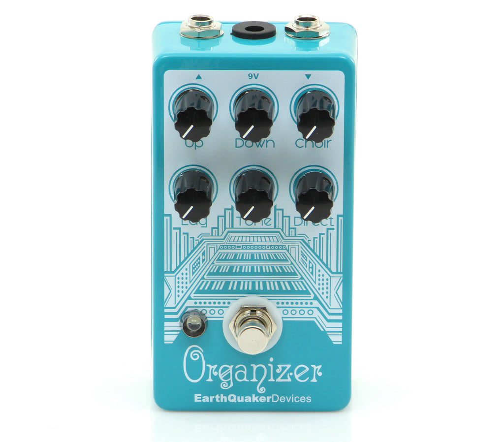 EarthQuaker Devices Organizer V1 Polyphonic Organ Emulator Pedal