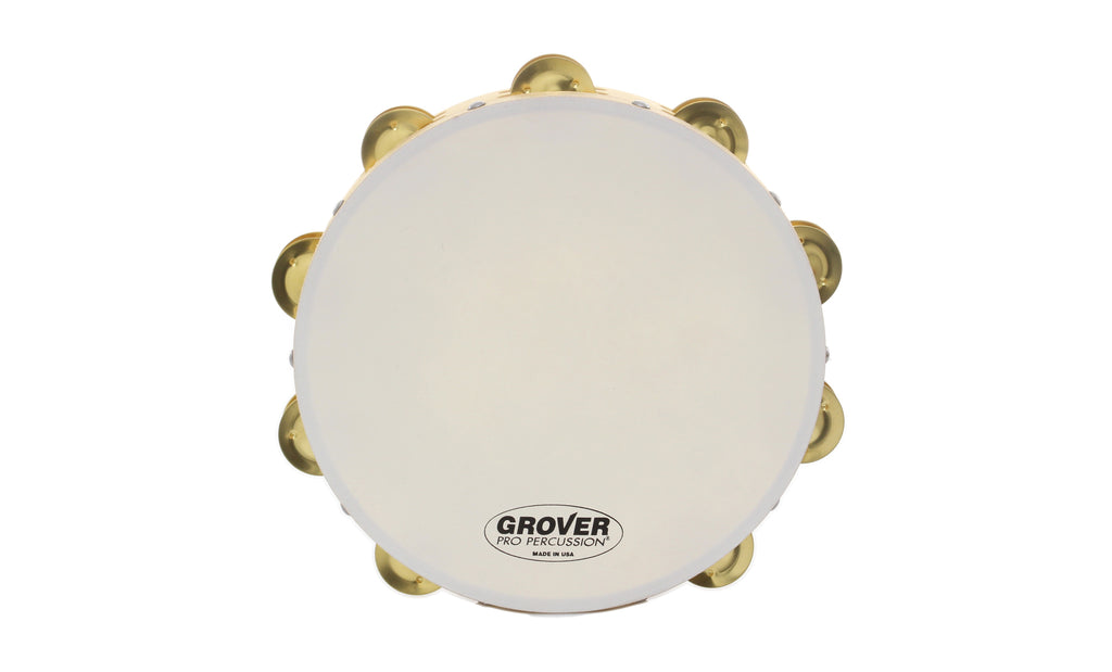 "Grover SV-TAMB Sound Values 10"" Tambourine"