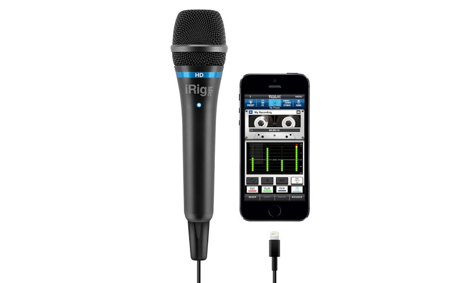 IK Multimedia iRig Mic HD Digital Microphone