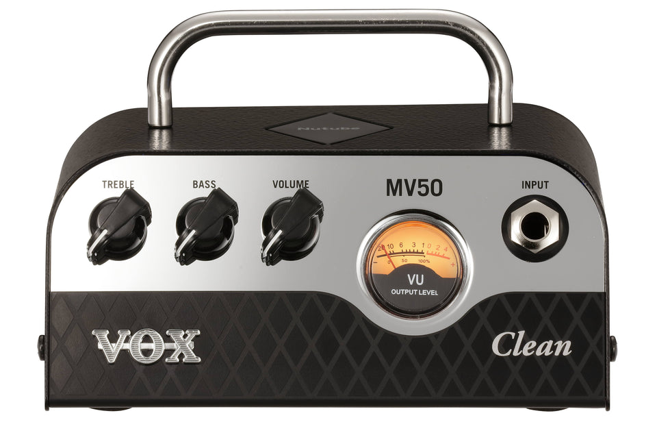 Vox MV50Clean 50w Hybrid Compact Guitar Amp Head