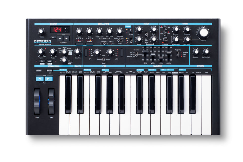 Novation Bass Station II 25 Key Synthesizer