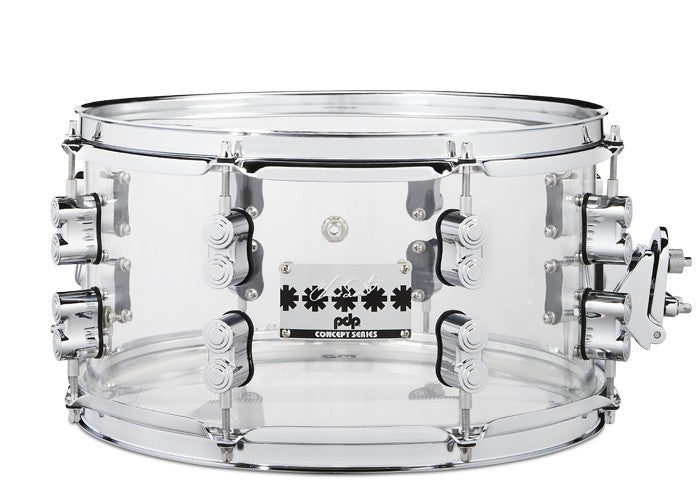"PDP Chad Smith 13"" x 7"" Snare - Clear Acrylic"