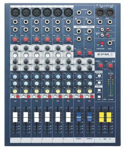 Soundcraft EPM6 6 Channel Mixer