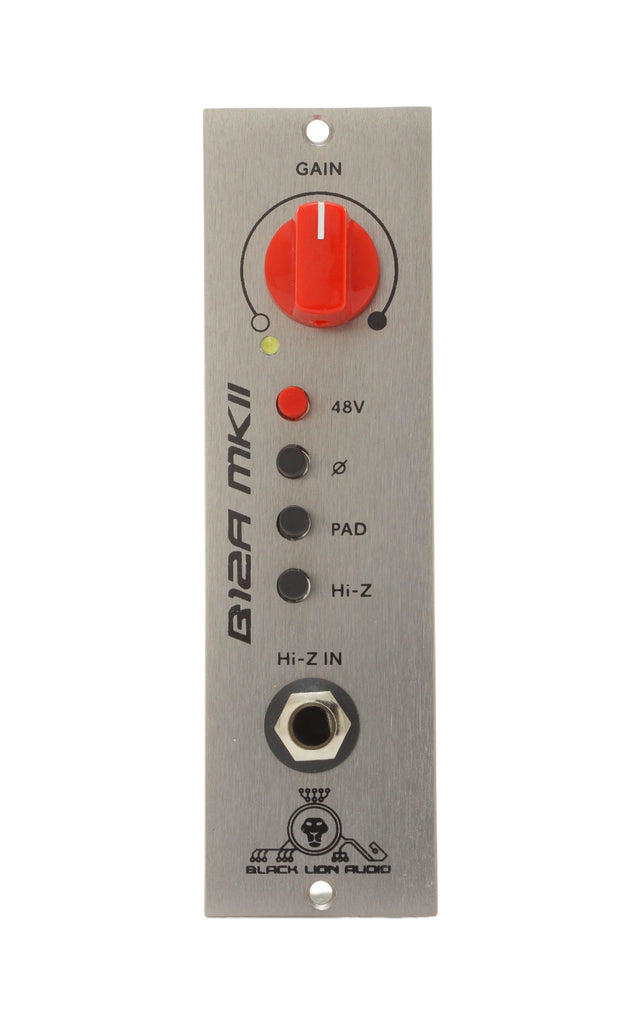 Black Lion B12A MKII 500 Series Preamp