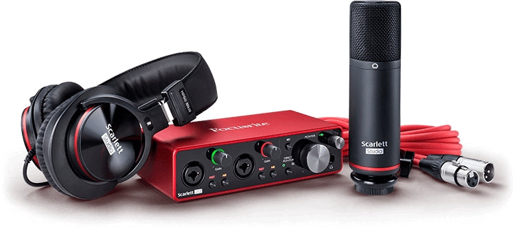 Focusrite Scarlett 2i2 Studio Audio Interface - 3rd Gen