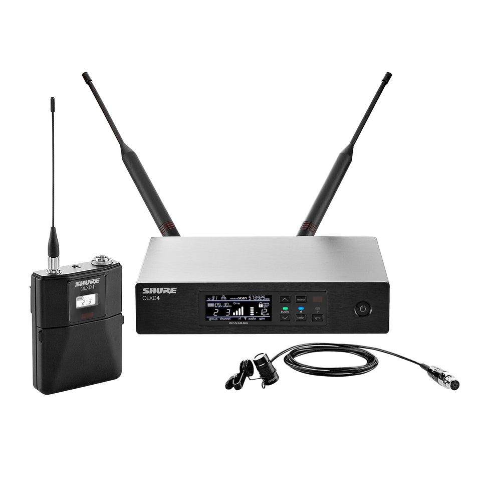 Shure QLXD14/83 Digital Lavalier Wireless System
