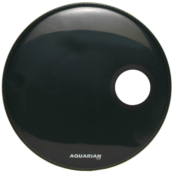 "Aquarian 20"" Regulator Bass Drum Head With 4.25"" Offset Port"