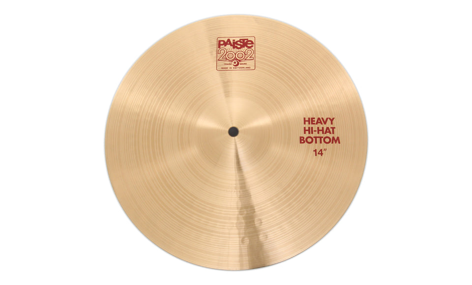 "Paiste 14"" 2002 Heavy Hi-Hat Bottom Cymbal"