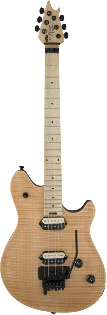 EVH Wolfgang Special FM Electric Guitar, Maple Fingerboard - Natural