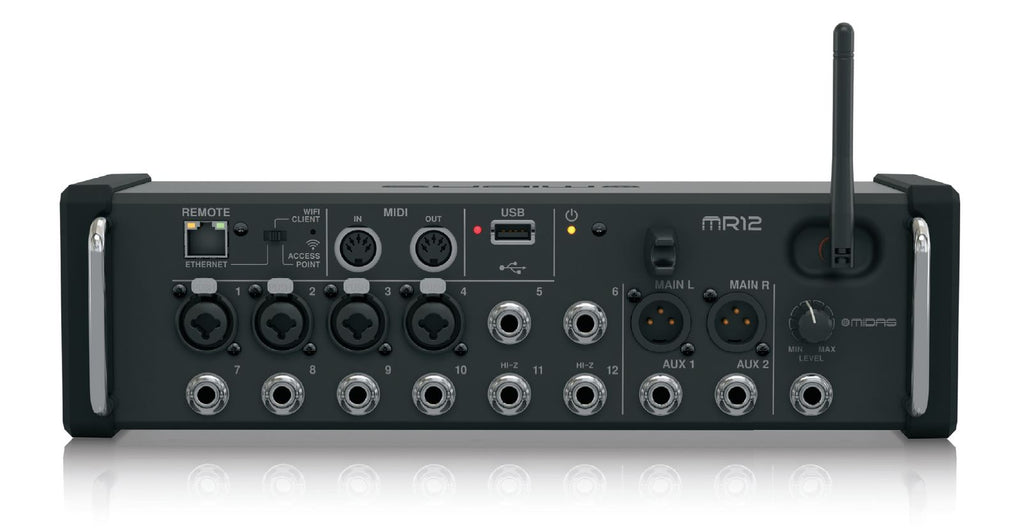 Midas MR12 Digital Tablet Mixer