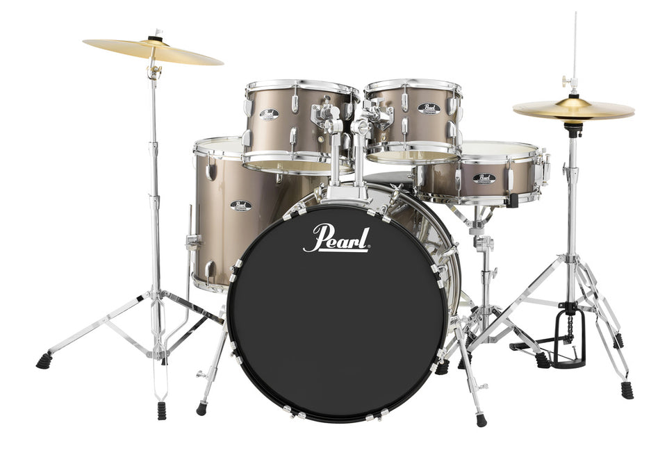 "Pearl Roadshow 5 Piece 20"" Kick Drum Set w/ Cymbals and Hardware"