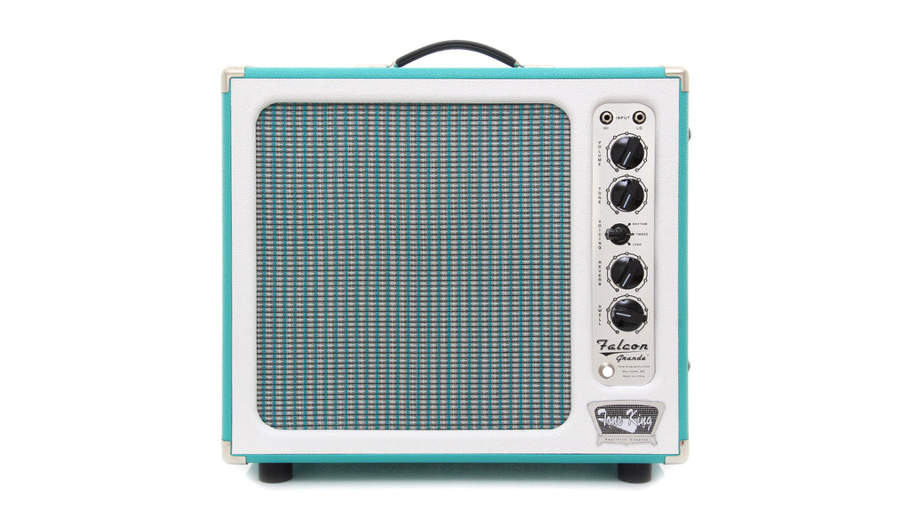 "Tone King Falcon Grande 1 x 12"" Combo Amplifier - Turquoise/White"