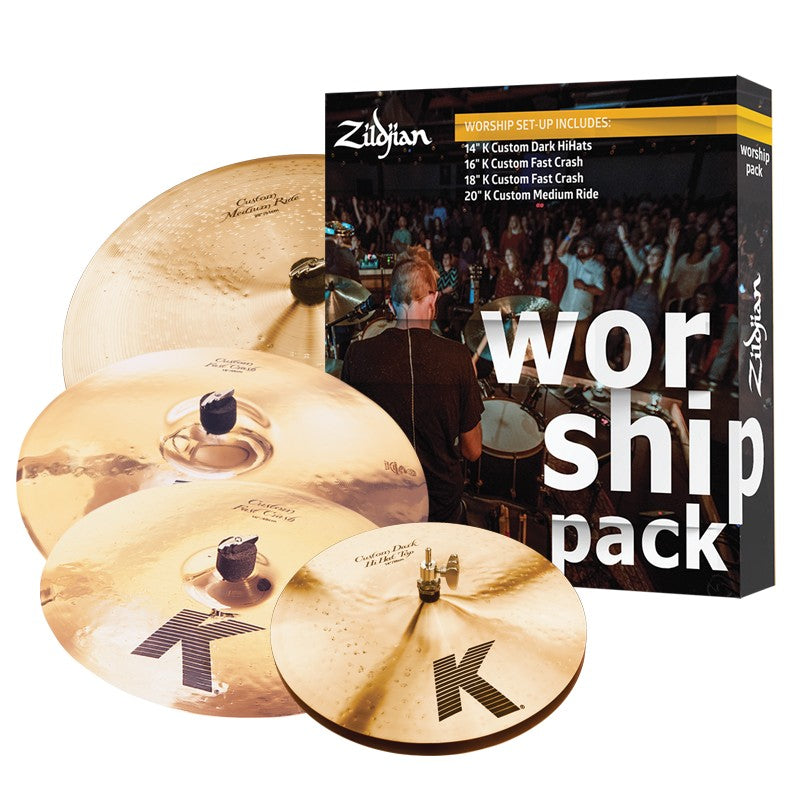 Zildjian K Custom Worship Music Cymbal Pack