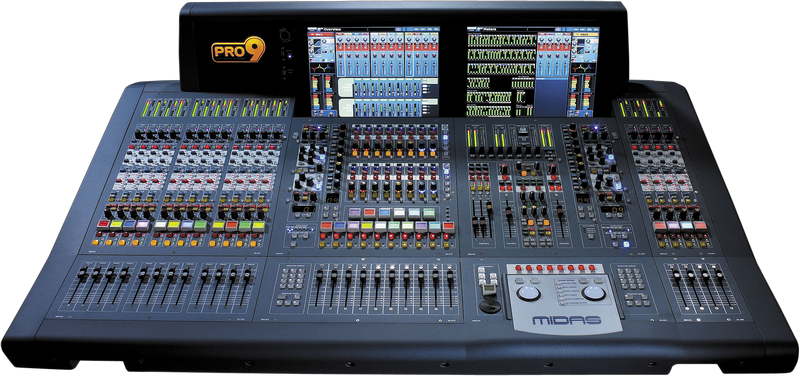 Midas PRO9-CC-IP Digital Console - Install Package