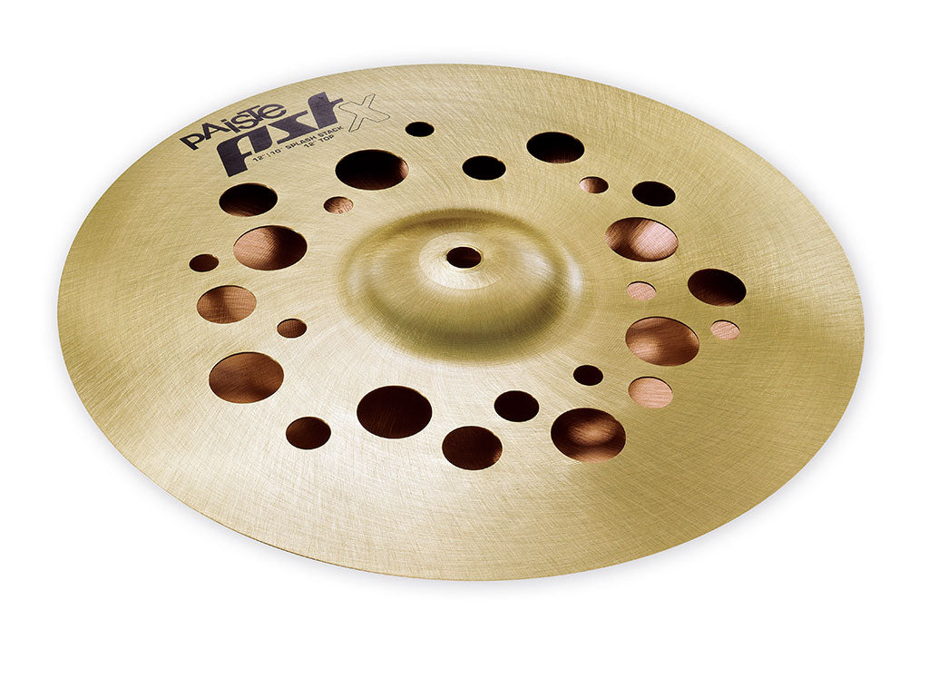 "Paiste 12"" PSTX Splash Stack - 12"" Top / 10"" Bottom"
