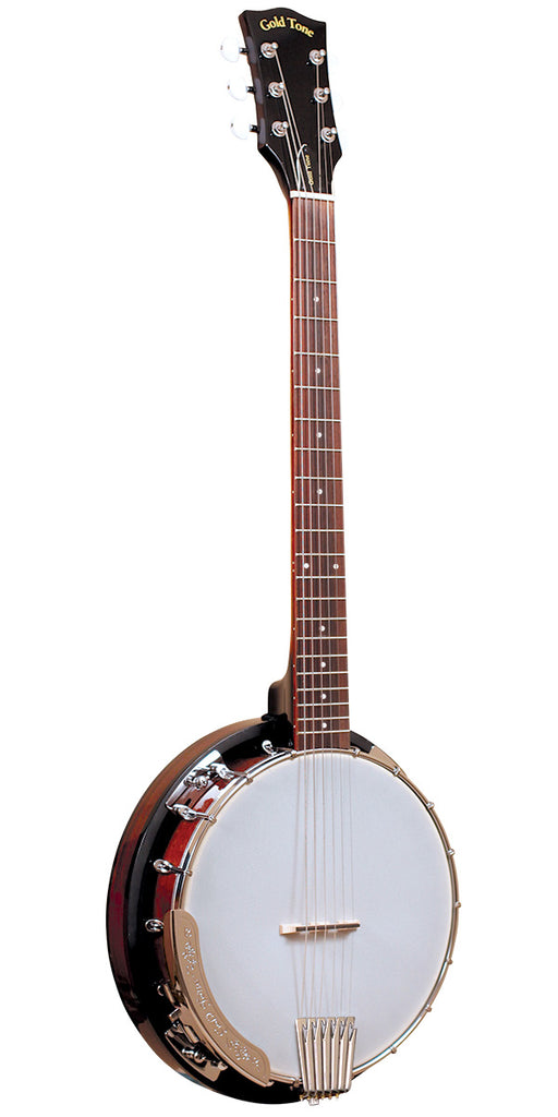 Gold Tone CC-Banjitar Cripple Creek 6-String Banjo - Vintage Brown