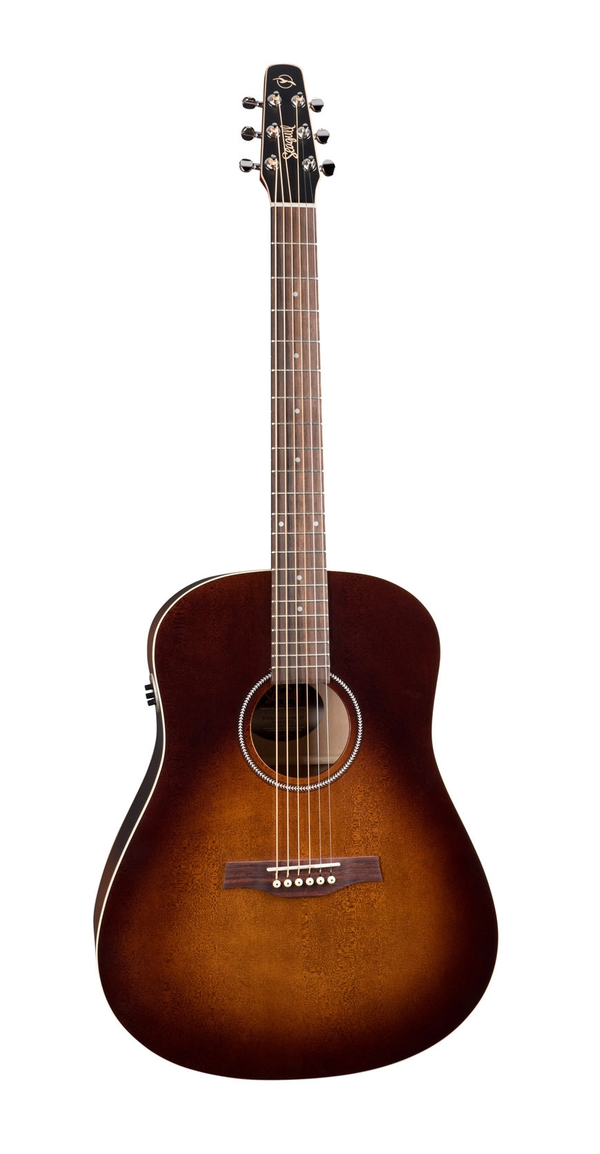 Seagull S6 Original QIT Acoustic Electric Guitar - Burnt Umber