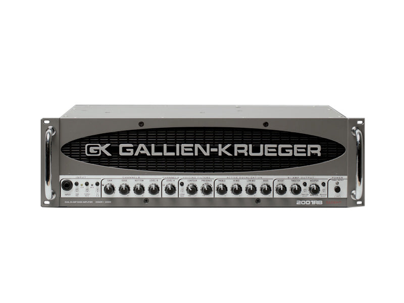 Gallien-Krueger 2001RB 2 Way 500+50W Bass Amp Head