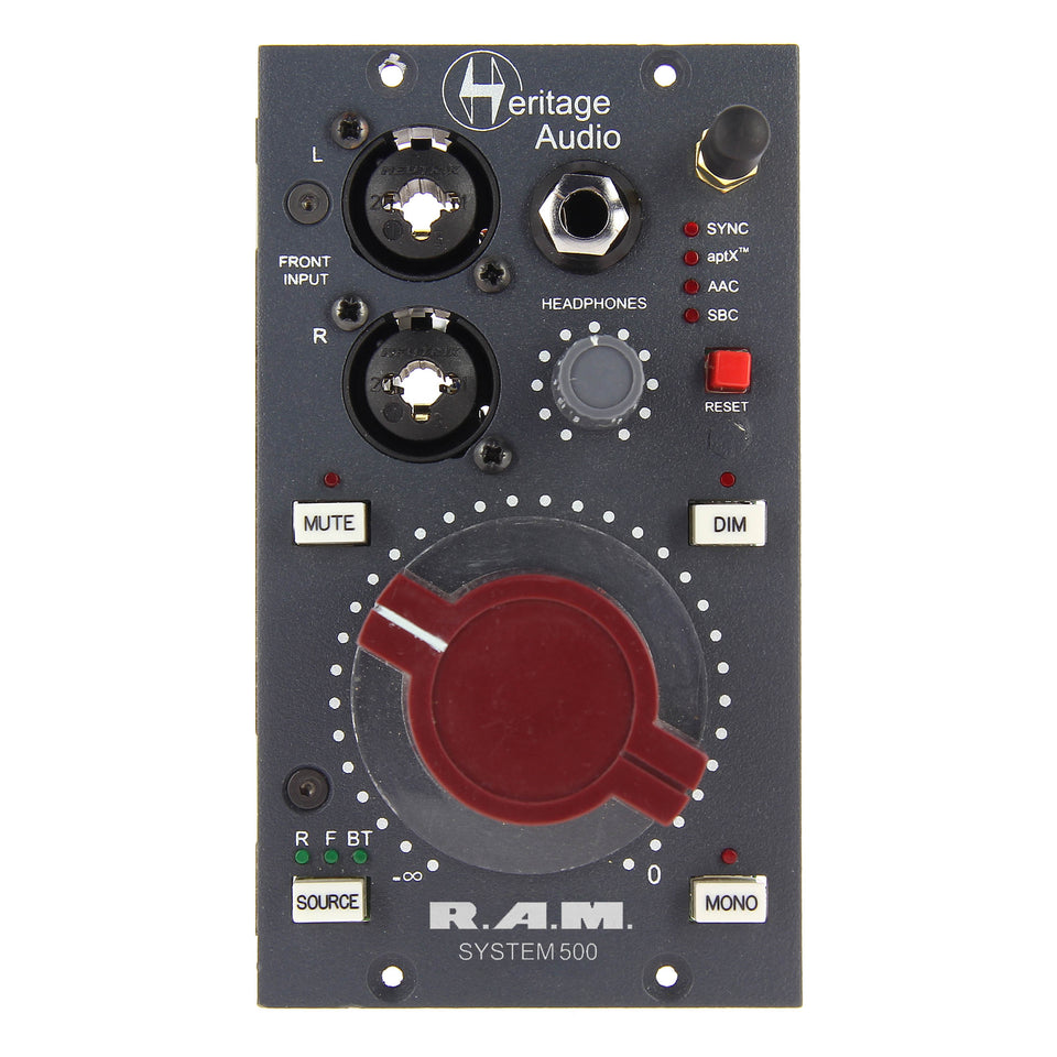 Heritage Audio RAMSystem500 500-Series Monitoring Module