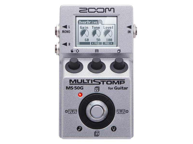 Zoom MS50G MS-50G Multistomp Guitar Pedal