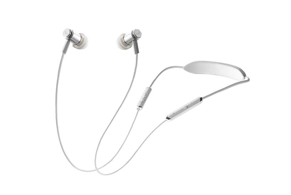 V-Moda Forza Metallo Wireless In-Ear Headphones - Silver
