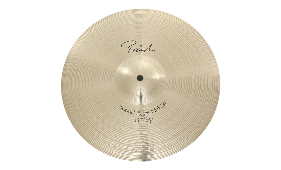"Paiste 14"" Signature Sound Edge Hi-Hat Top Cymbal"