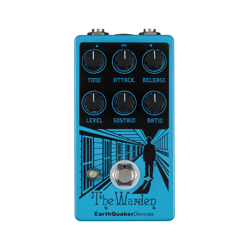 Earthquaker The Warden Optical Compressor Guitar Effects Pedal