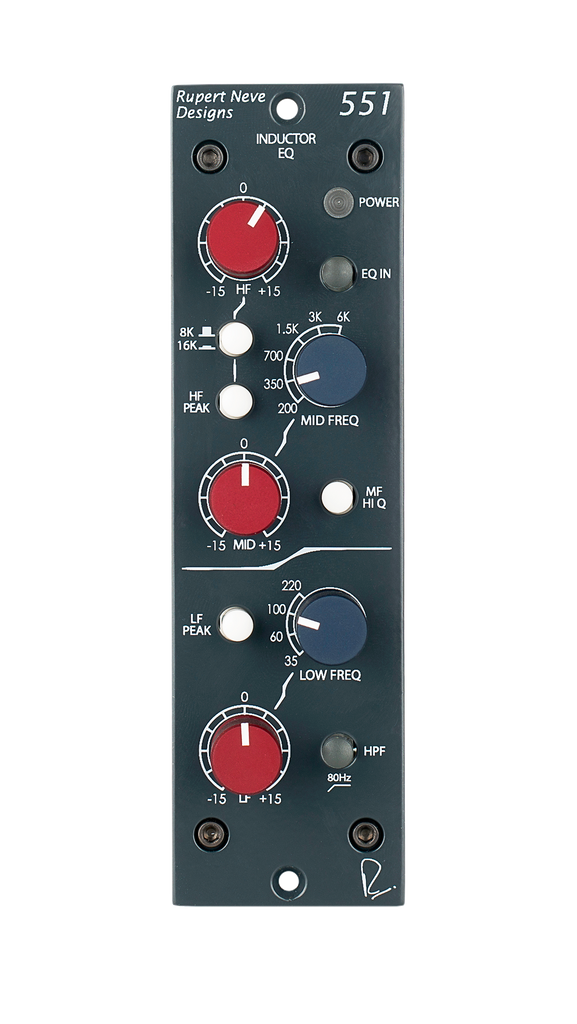 Rupert Neve Designs 500 Series 551 Inductor EQ