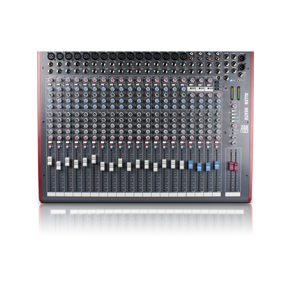 Allen & Heath ZED-24 Mixer With USB