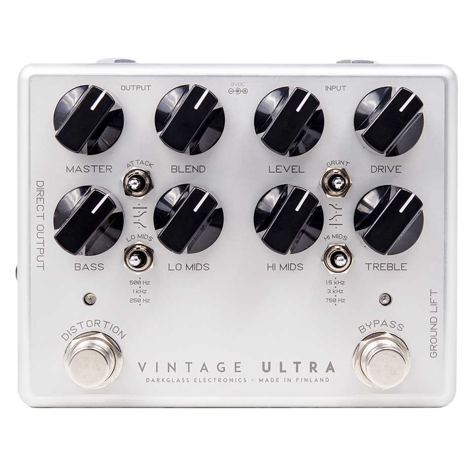 Darkglass VU Vintage Ultra Bass Preamp Pedal