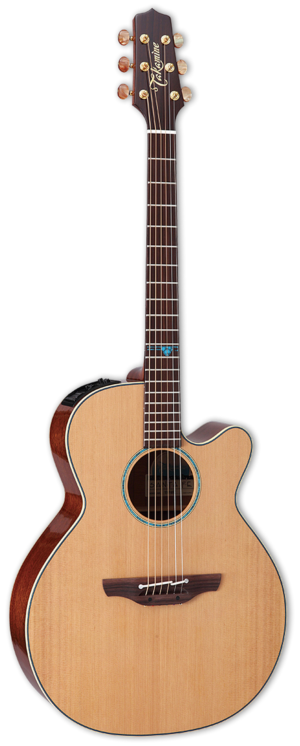 Takamine TSF40C Santa Fe Series Cutaway Acoustic Electric Guitar - Natural